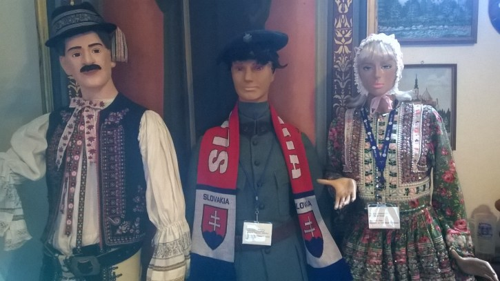 The prettiest of Slovakian mannequins.