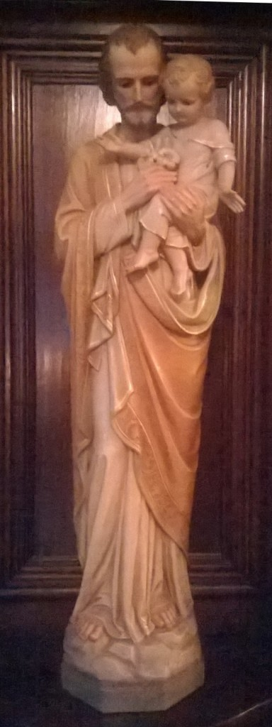 St Joseph, dally greeter