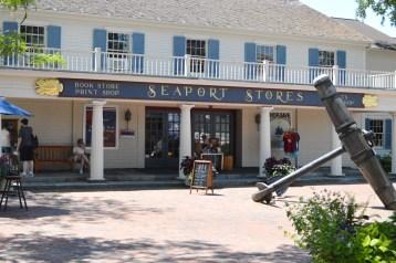 Seaport entrance