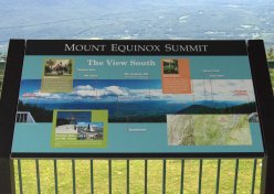 Mt Equinox summit