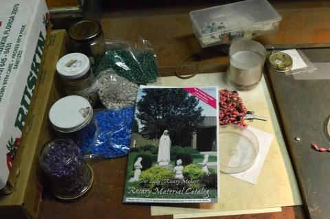 Rosary making I