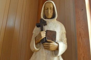 St Bruno statue