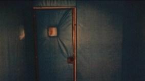 Behind a locked door