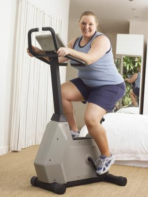 Overweight exerciser