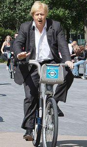 London Cycle Scheme Boris Johnson