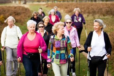 Elderly exercisers can expect an extra five years of life