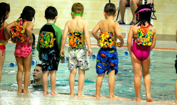 teach primary school swimming