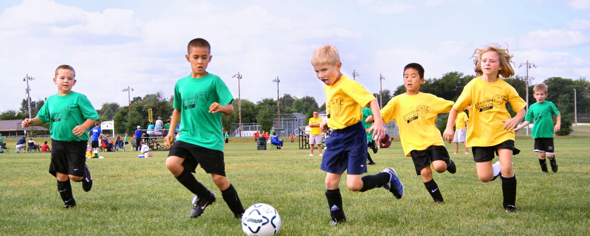 Sport helps children's fitness levels