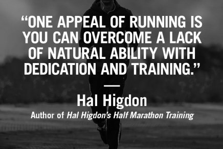 Running motivation from world-renowned author Hal Higdon