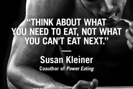 Nutrition motivation from Susan Kleiner