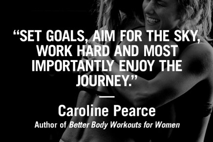 Enjoy the journey – Caroline Pearce