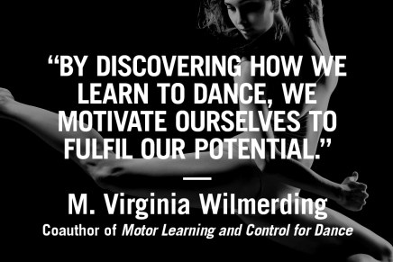 Dance inspiration – M. Virginia Wilmerding, PhD