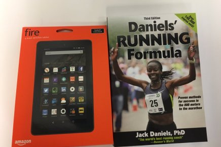 Win a Kindle Fire and a copy of Daniels' Running Formula