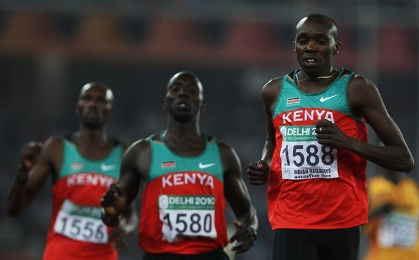 kenyan long distance runners