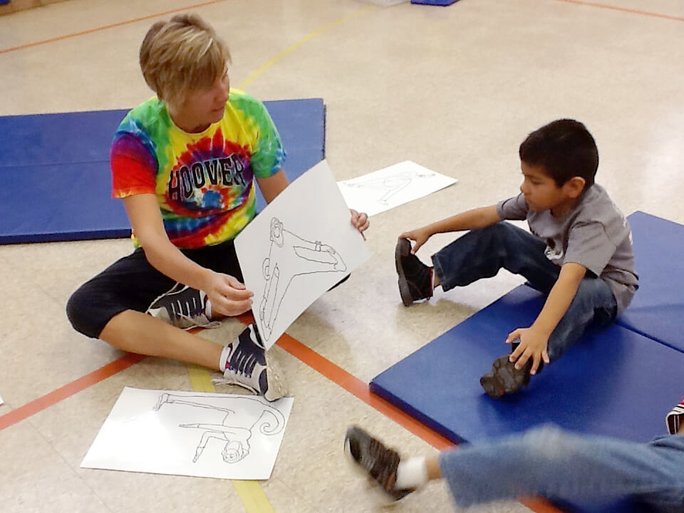 Example of teaching PE to students with autism