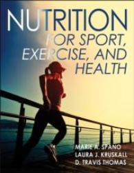 Nutrition for Sport, Exercise and Health