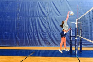 volleyball kill