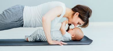 Weight gain during and post pregnancy – Who isn't exercising?