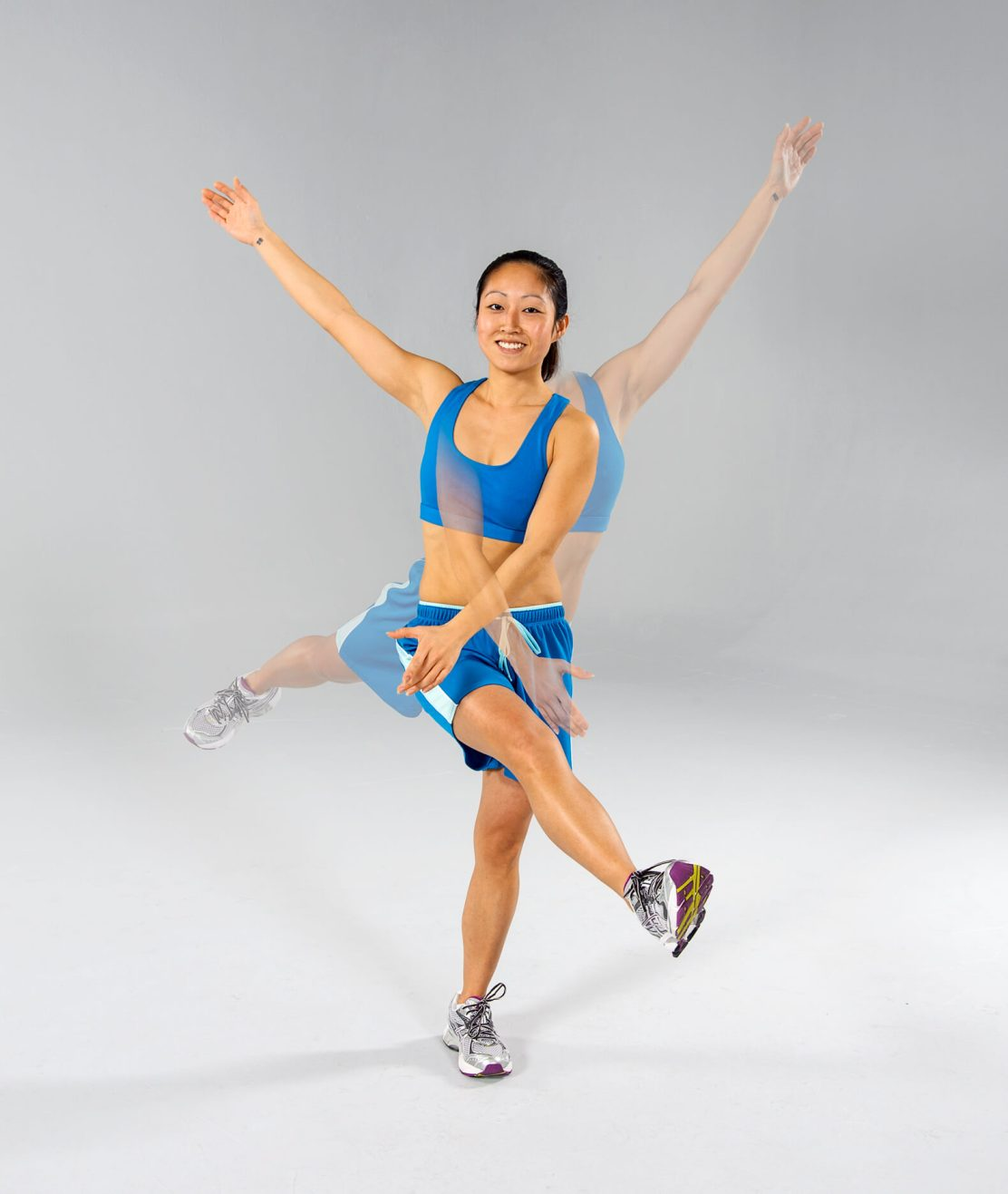 static stretching vs. dynamic stretching: dynamic stretch