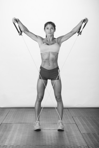 Resistance Band Exercises for Shoulders and Back