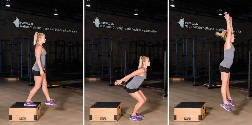 Plyometric training: Different types of strength and power training