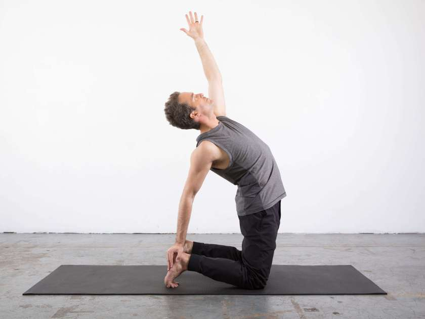 Camel pose modification: yin yoga poses for the shoulders