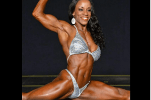 Jehina Malik Vegan muscle and bodybuilder female
