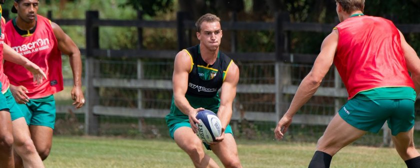 GPS to monitor rugby training