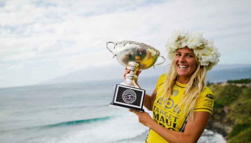Gilmore female surfing champ