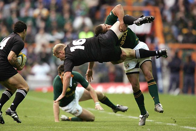 Big tackles Rugby Training HIIT