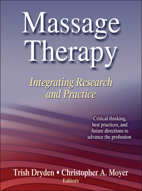 Massage Therapy - sports massage book