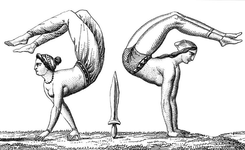 Most popular sports in Europe - Greece gymnastics