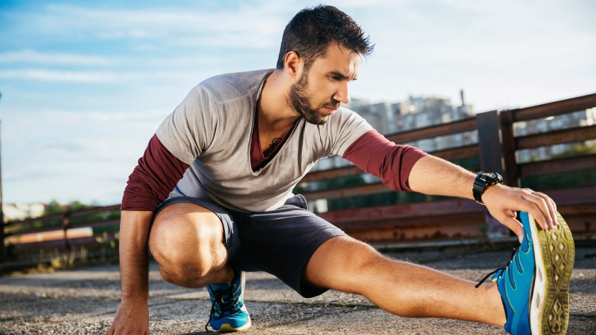 Tapering for a marathon: stretching is fine but don't go overboard