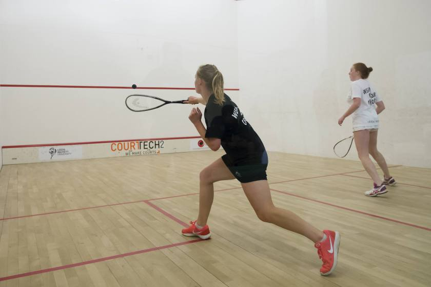 Popularity of Fitness Classes - squash for burning calories