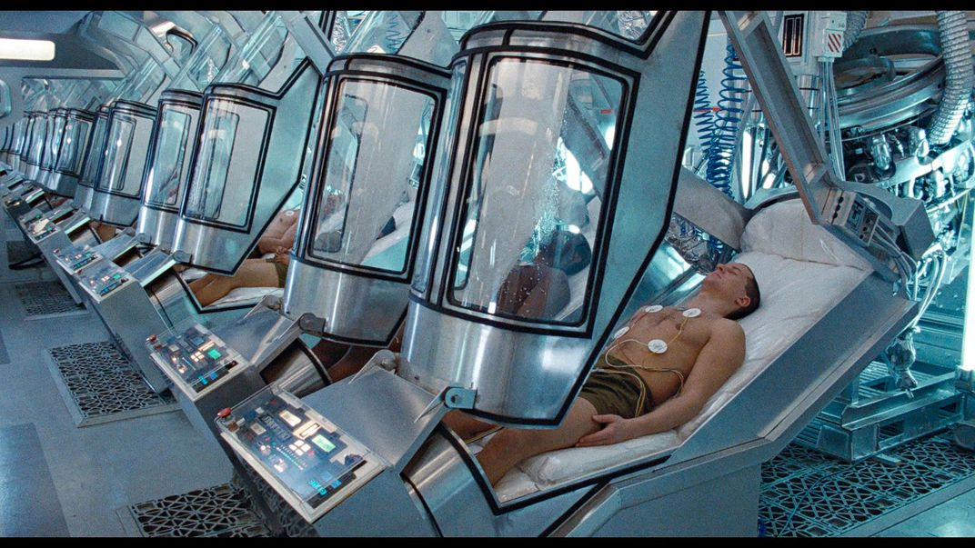 Hibernation pods from the movie Aliens