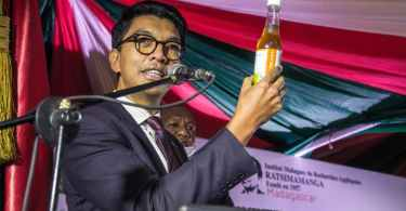 Madagascar's president, Andry Rajoelina, launched the Covid-Organics drink