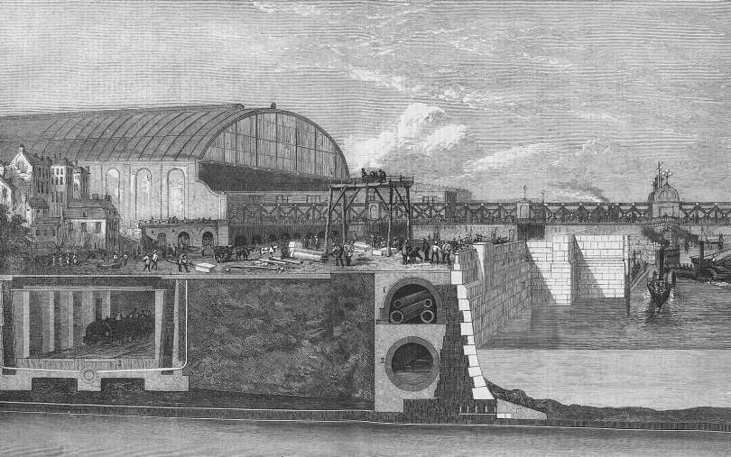 Urban planning in London led to the creation of a city-wide sewage system in the 1800's