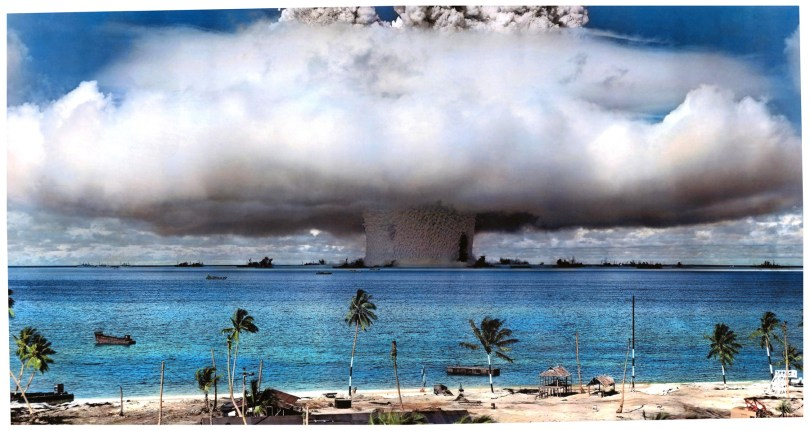 Nuclear Test in the Republic of Marshall Islands