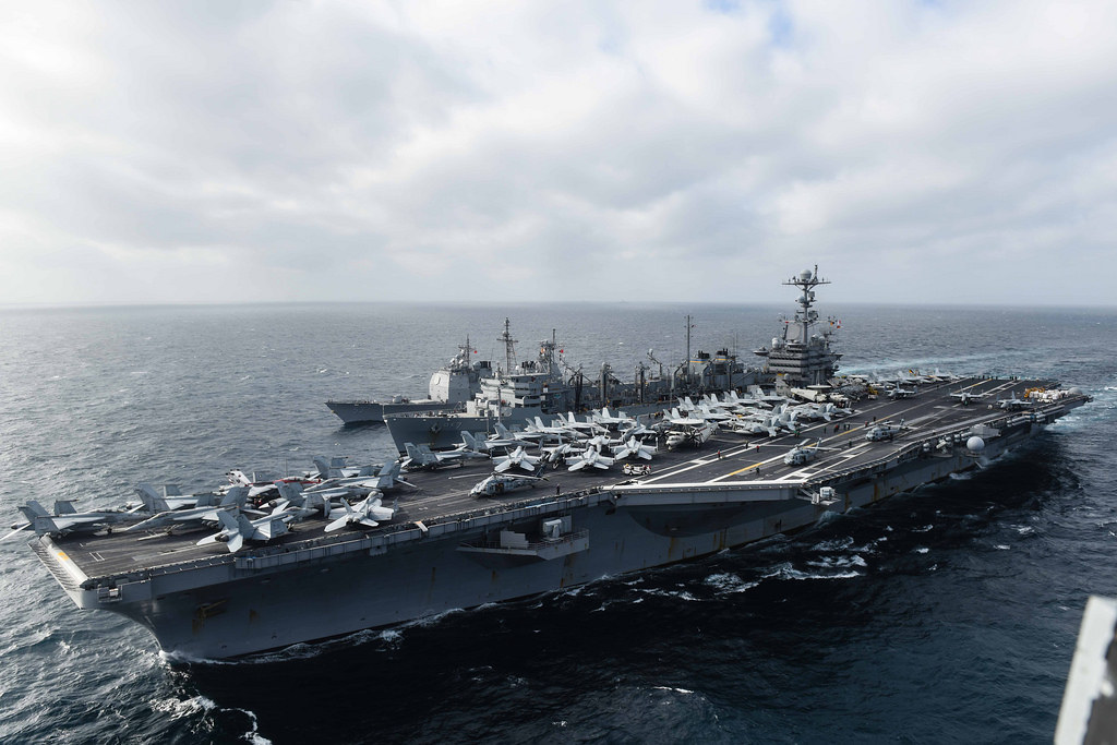 USS John C. Stennis Conducting Routine Operations in the South China Sea