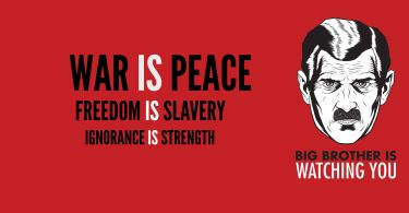 war is peace slogan from 1984