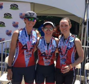 Triathlon Team - Robyn, Heather, Kim