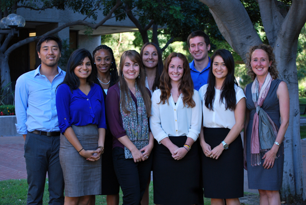 Group photo of 2013-2014 students