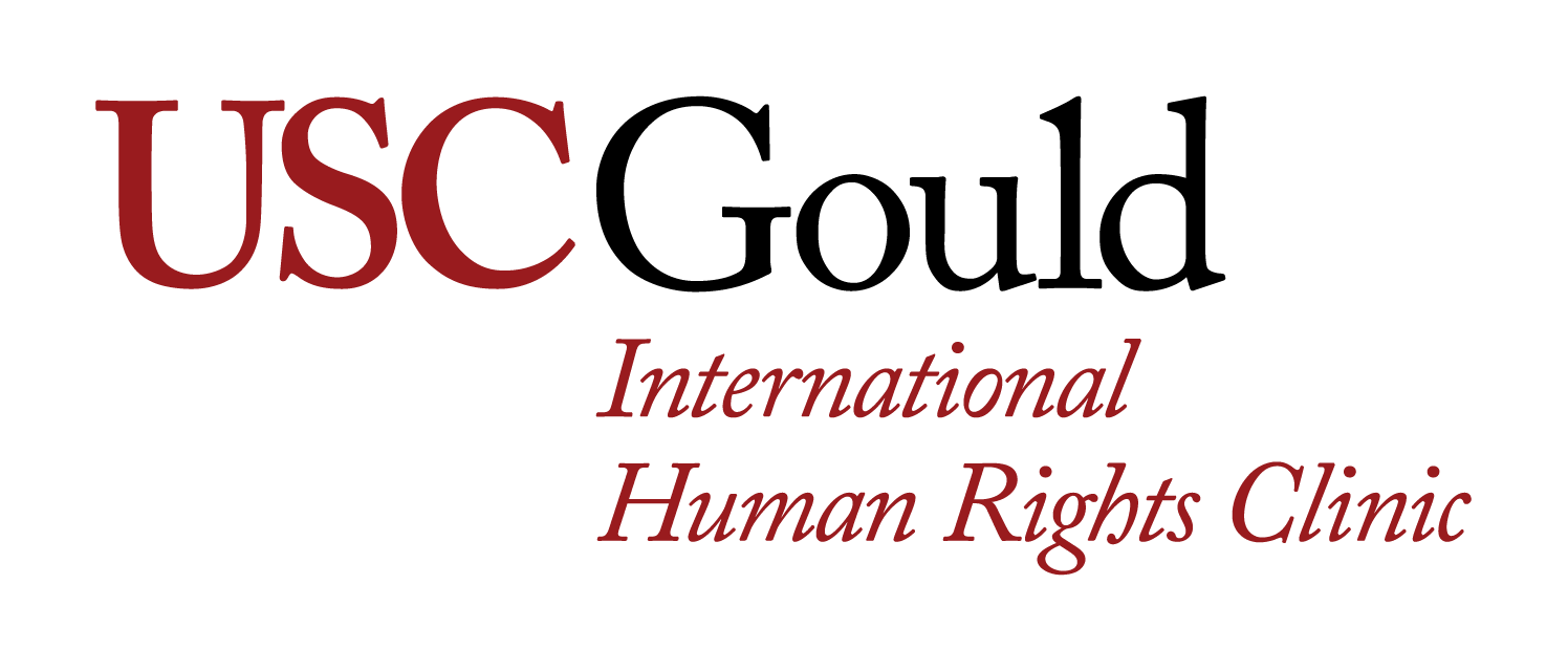 USC Gould School of Law International Human Rights Clinic