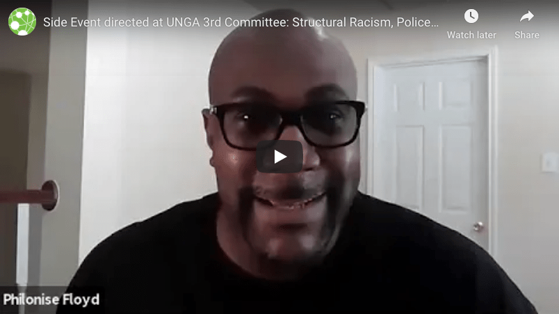 Virtual Event on Structural Racism, Police Violence and the Right to Protest