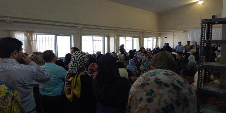تجمع اعتراضی والدین در همدان