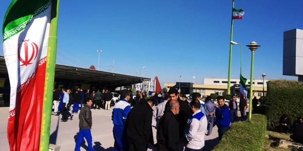 تجمع اعتراضی کارگران اروند