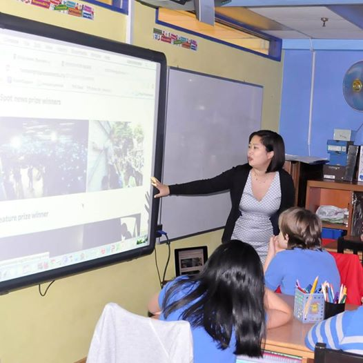 Joyce Lau at The Harbour School. Photo by Michael Mo.