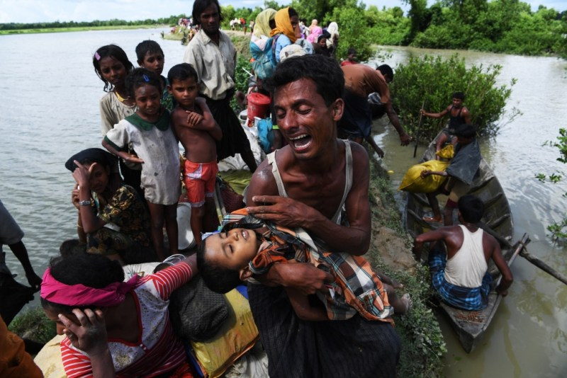 Staring at Death, by Indranil Mukherjee of AFP