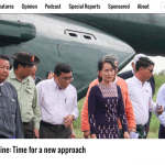 Rakhine: Time for a New Approach by Thomas Kean of Frontier Myanmar