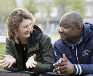 david & akke van vluchtelingenwerk nederland